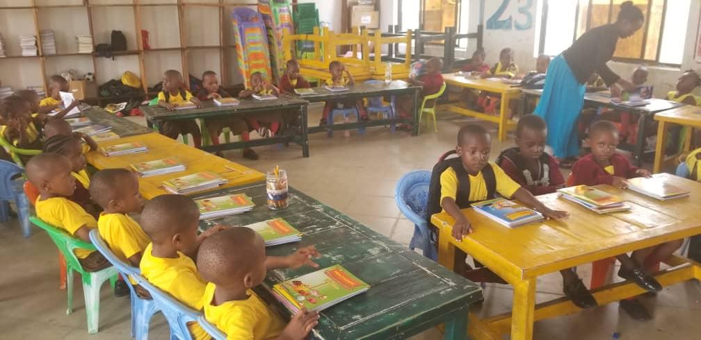 Kananura Schools ,Nursery  Students