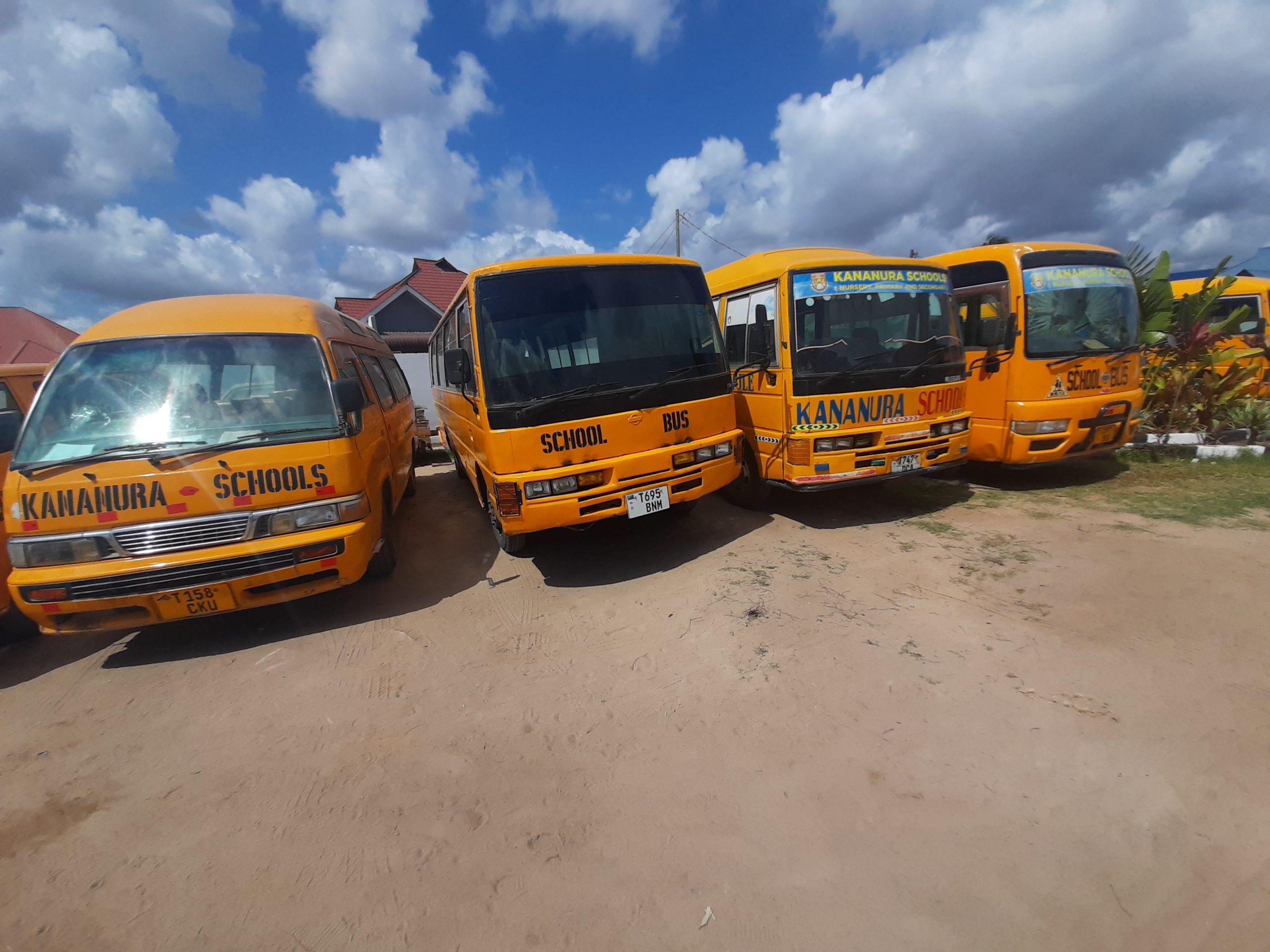 Kananura Schools Buses